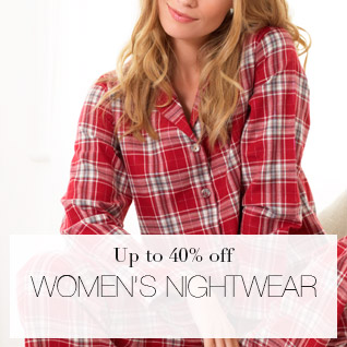 Up to 40% off Womens Nightwear