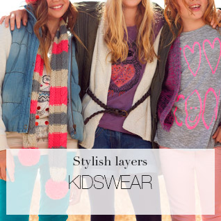 Stylish layers KIDSWEAR