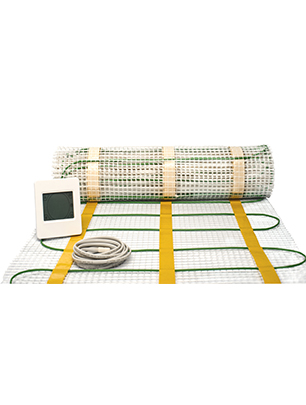 Underfloor heating mat kit