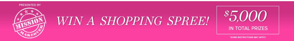 Win A Shopping Spree!