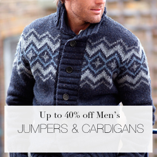 Up to 40% off Mens Jumpers & Cardigans