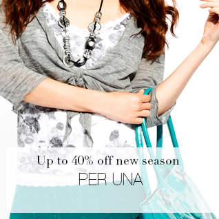 Up to 40% off new season PER UNA