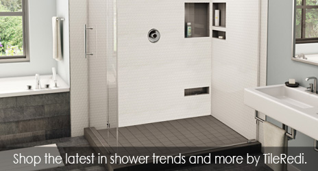TileRedi shower trends