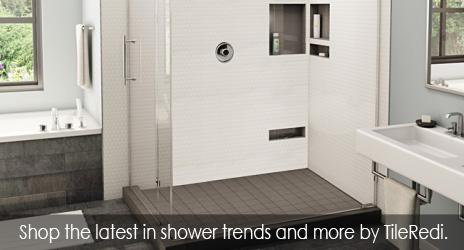 TileRedi shower trends