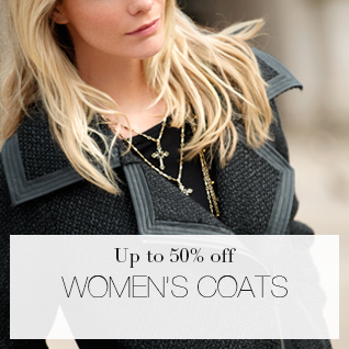 Up to 50% off Womens Coats