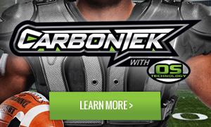 Russell Athletic CarbonTek Shoulder Pads