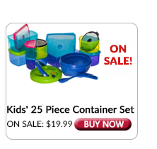 Fit & Fresh 25 Piece Container Set