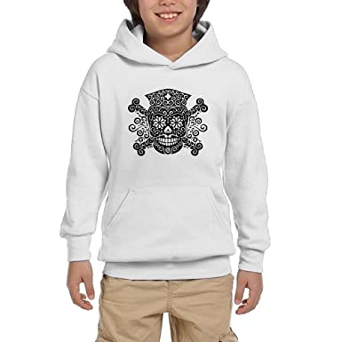 Amazon.com: Buringd Pirate Nurse Skull Unisex Youth 100% Cotton ...