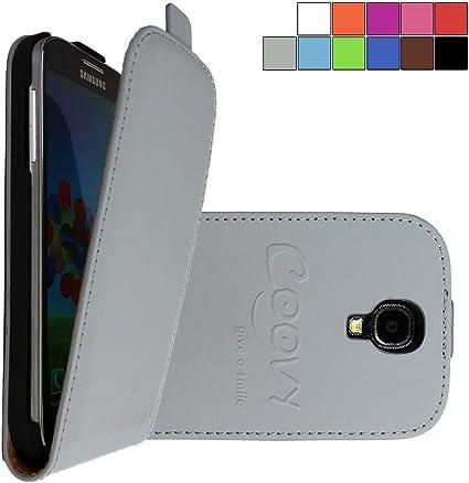 COOVY® Étui pour Samsung Galaxy S4 GT-i9500 GT-i9505 GT-i9506 Slim Flip Coque Housse Étui de Protection Fin à clapet avec écran de Protection | ...