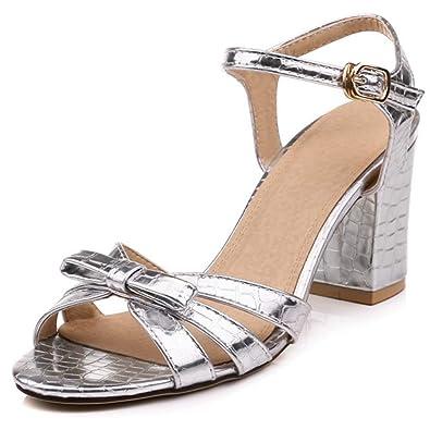 369a658a98ad88 Femmes Femmes Femmes Sandales À Talons Chaussures Été Mi Bloc Talon Bride La