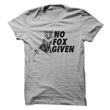 Amazon.com: No Fox Given - Funny T-Shirt - Made On Demand in USA ...