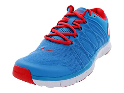 Nike Free Trainer 3.0, Sneakers Basses Homme, Blue - Red