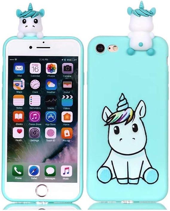 Cute 3D Cartoon Panda Unicorn Case For