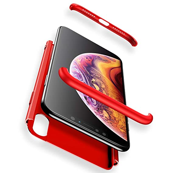 iphone xs max case matt red
