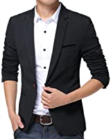 FLATSEVEN Mens Slim Fit Casual Premium Blazer Jacket at Amazon ...