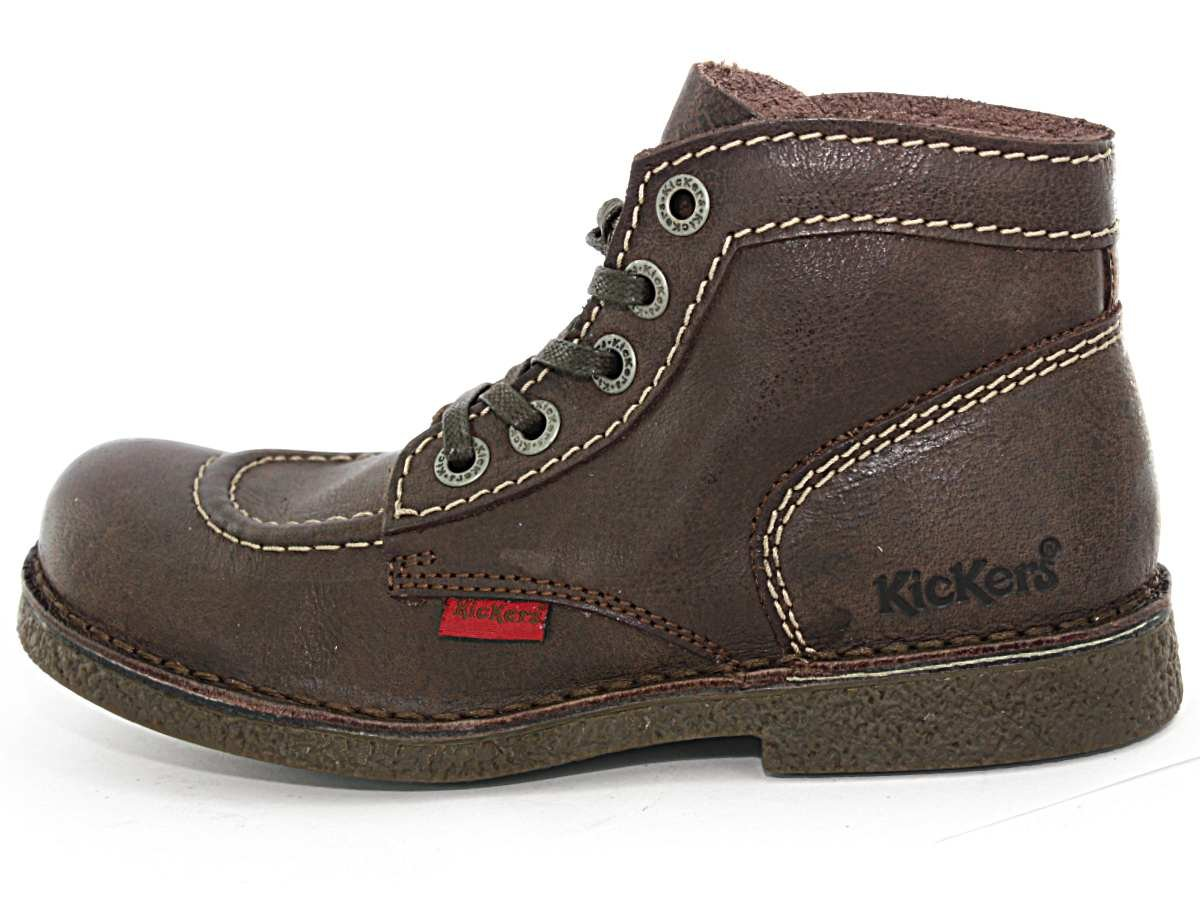 Bottines Kickers Legendik marron-37 WuwCjp4q1e