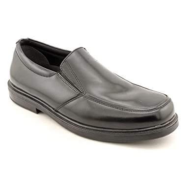 Nunn Bush Tucker Mens Slip-On Black Shoes US SIze 8.5 M