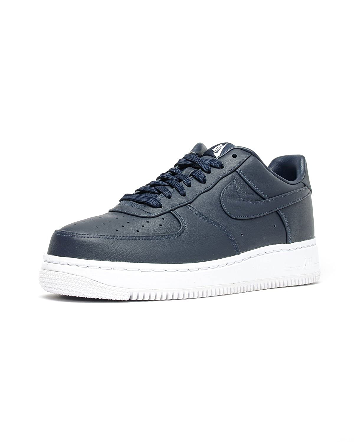 New Air Force One Nike Low 07 Suede ObsidianWhite Men's