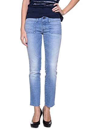 Amazon.com: Diesel Skinny Jeans HUSHY Color: Light Blue: Clothing