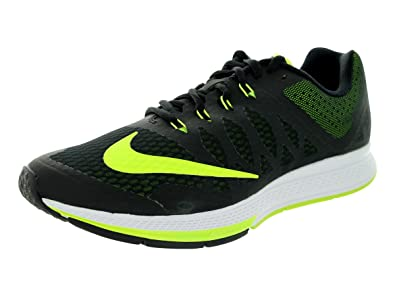 Nike Men's Zoom Elite 7 Black/Volt/White Running Shoe 8 Men US