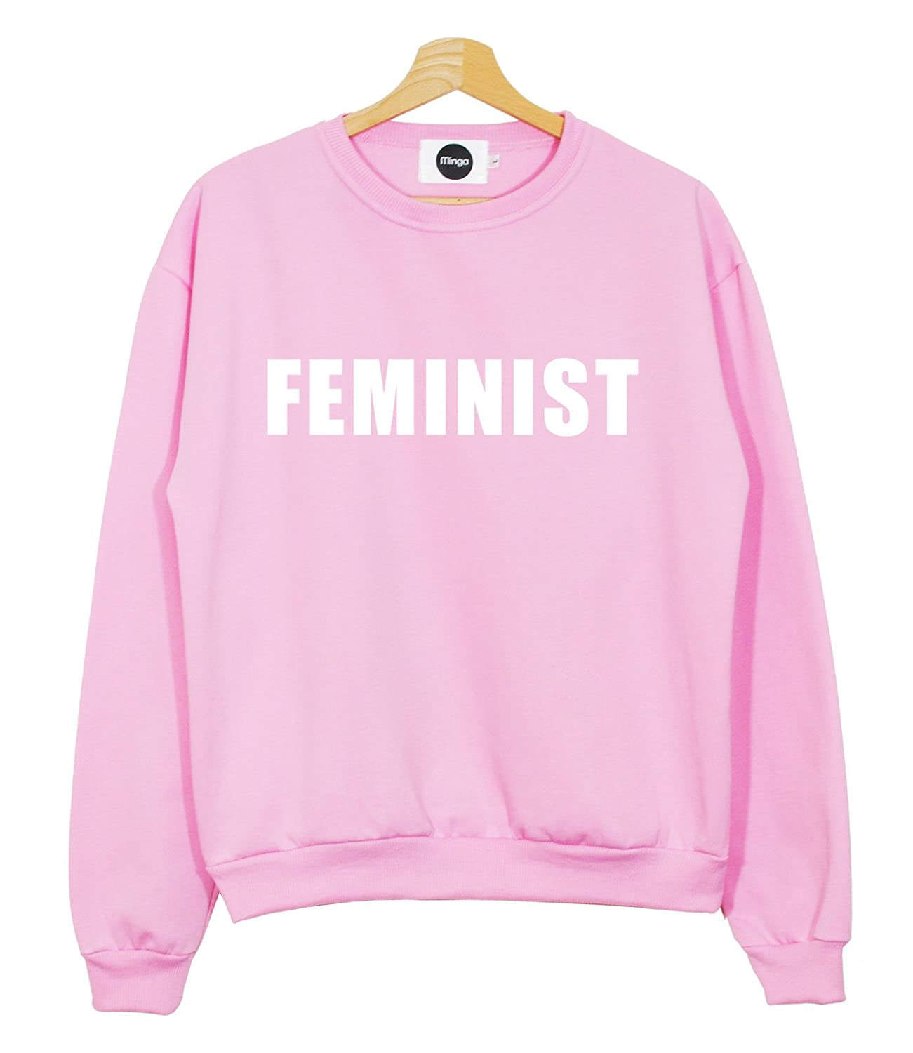 Feminist Sweater Top Women's Fun Fashion at Amazon Women's ...