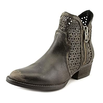 Women's Cut-Out Short Boot Round Toe - Q0003