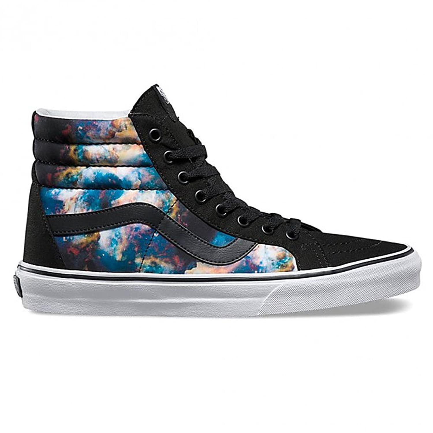 cheap Vans SK8 HI Nebula Reissue Black True White Skateboard