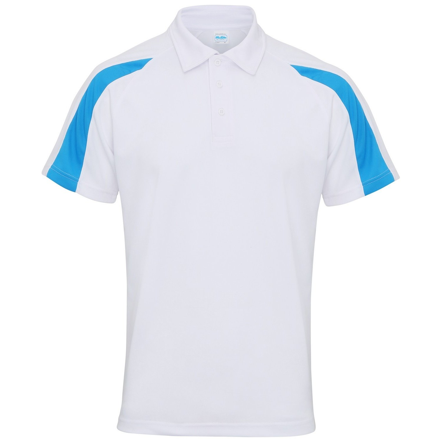 AWDis Just Cool Herren Kurzarm Polo Shirt mit Kontrast Panel: Amazon.de:  Bekleidung