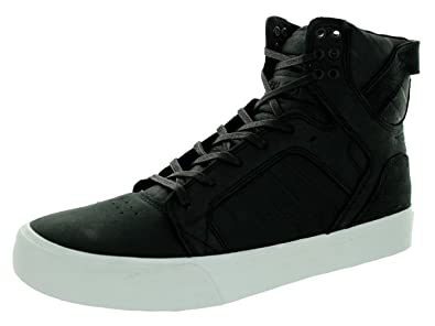 Men's Skytop HF Black/White Leather Skate Shoe 11.5