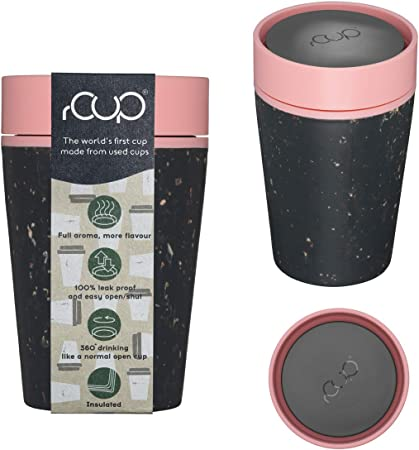 Details about rCup Reusable Coffee Cup From Recycled Cups, 100% Leak Proof, Various Styles