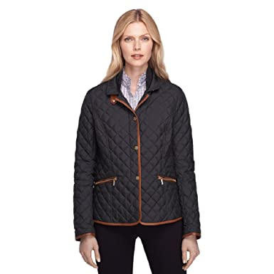 Brooks Brothers Womens Quilted Down Jacket at Amazon Women's Coats ...