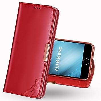 coque iphone 6 en cuir rouge