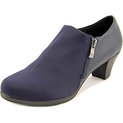 Ease Up Women US 7.5 Blue Bootie