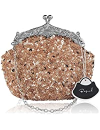 Amazon.com: Golds - Evening Bags / Clutches & Evening Bags ...