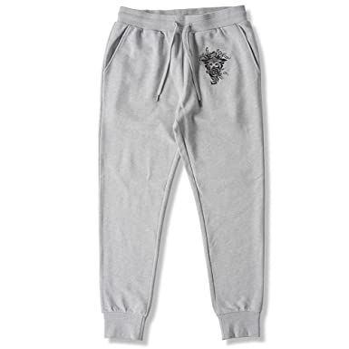 Crooks and Castles Pants Bandit Crks Sweatpants Heather Gray