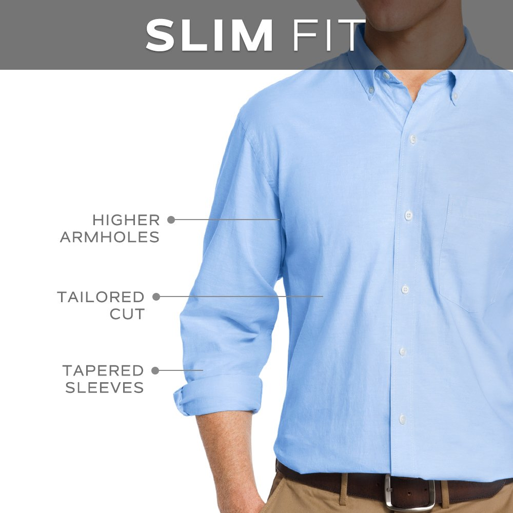 Van Heusen Slim Fit Flex Collar Stretch Dress Shirt