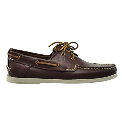 Timberland Earthkeepers Heritage 2 Eye Men's Boat Shoes Brown 6501r (7 D(M)