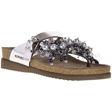 Mephisto Womens Helen Chic Leather Sandals