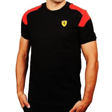 puma ferrari t womens red shirt polo