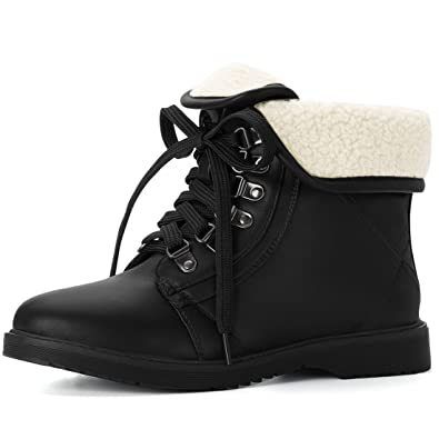 Women's Plush Fold Down Ankle Boots