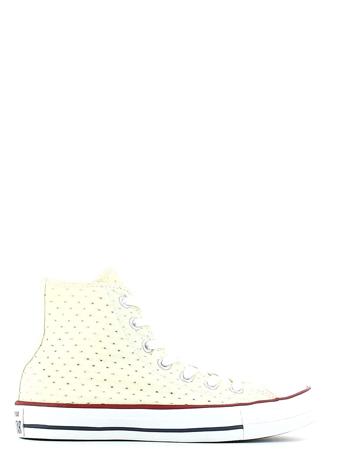 Converse Damen Schuhe Chucks All Star Chuck Taylor CT Hi Hellgelb Sneakers Gelb