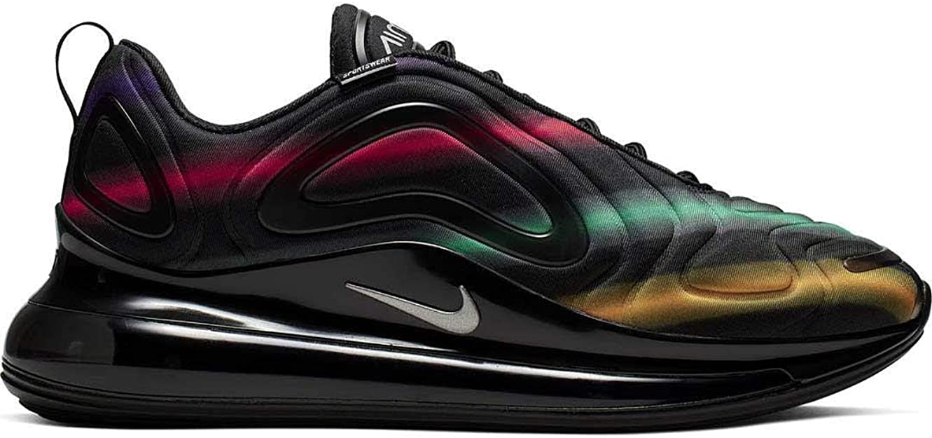 Nike Air Max 720 Sneakers Nero Multicolore AO2924 023 (43 Nero)