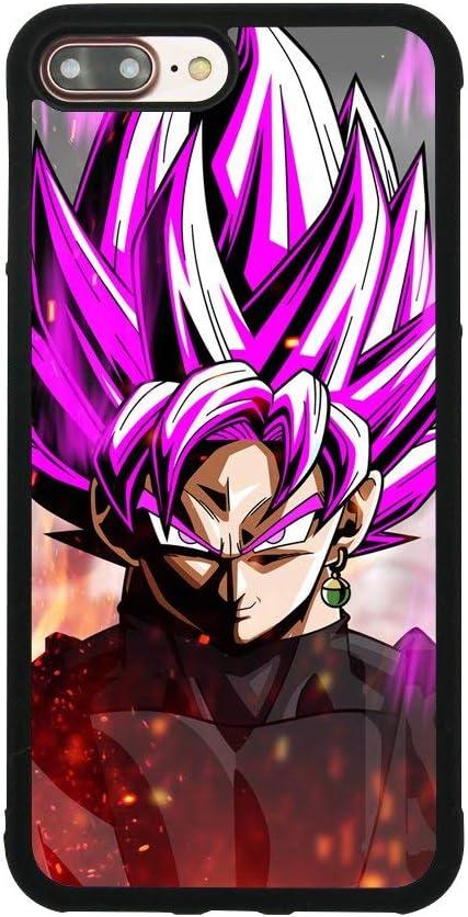 Dragon Ball Z Super Saiyan Rose Black Goku Case for iPhone 7 Plus ...