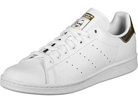 adidas, Stan Smith Bianco/Oro EE8836 Sneakers per Donna, 36