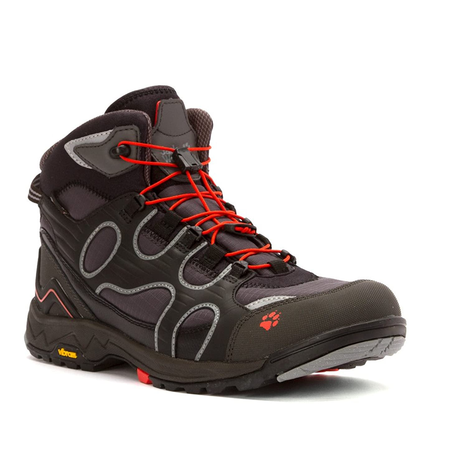 Jack Wolfskin M Crosswind WT Texapore MID - Dark Steel - EU 43 / UK 9 / US  10 - Mens sporty comfortable winter hiking shoe: Amazon.co.uk: Shoes & Bags