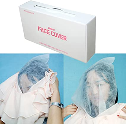 disposable makeup mask