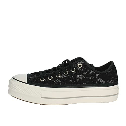 converse basse pizzo donna