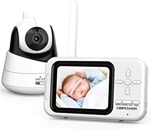 DBPOWER Video Baby Monitor with Camera and Audio