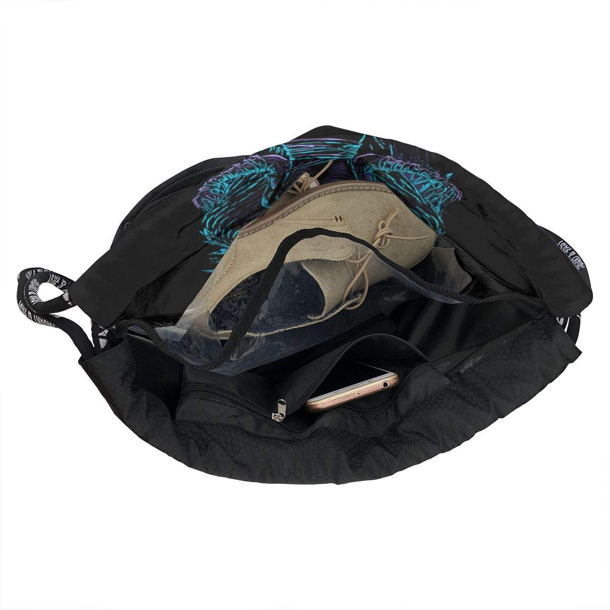 Sport Gym Travel Bag AgoodShop Suicide Silence Drawstring Backpack