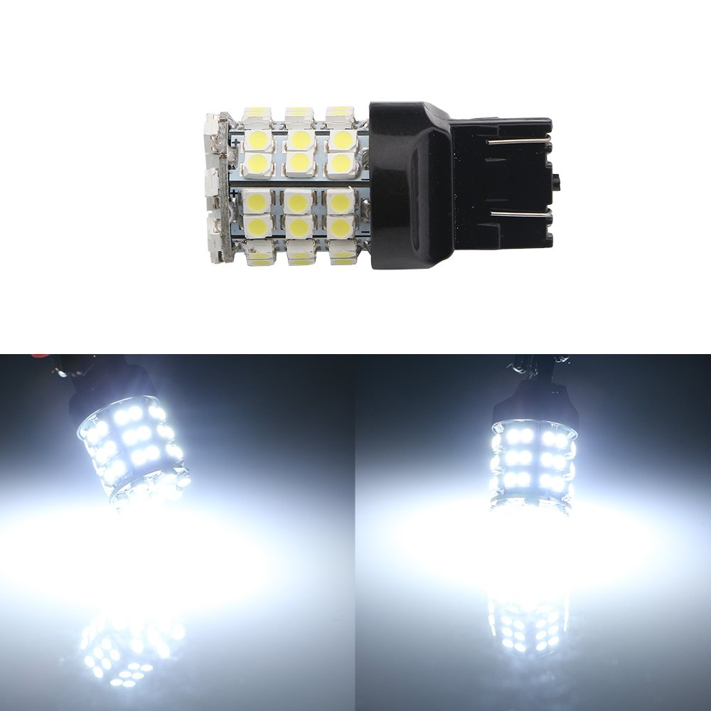 GrandView 7443 LED Bulbs 2pcs Super Bright White T20 7444NA 992 W21//5W LED Bulbs with 24 5050 SMD Replacement For Turn Signal Tail Bulb Backup Lamps Bulbs DC 12V